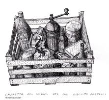 Cassetta del nonno del sig. Giacomo Bertelli