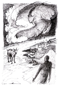 3. Apparizione della capra Giuseppe